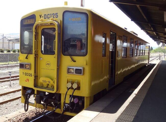 乗る&乗る ザ 九州・その7.九州横断鉄旅後半、豊肥本線ローカル列車紀行。