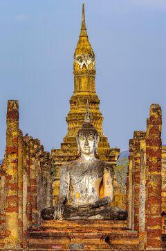 タイの遺跡を全部巡るつもりが、コロナの影響で北部だけで終わってしまった旅 その26 いよいよスコータイ歴史公園へ