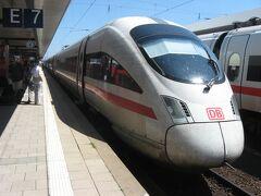 2013年夏ドイツ・オーストリア・ハンガリー弾丸周遊(その9 「ICE-T」でニュルンベルクへ)