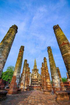 タイの遺跡を全部巡るつもりが、コロナの影響で北部だけで終わってしまった旅 その28 ここにしかないチェディを堪能