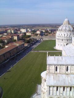 2005年、母娘でイタリア 3 ピサ