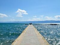ギリシャからバルカン半島南部を周遊旅 ⑥ (ヨーロッパ最古の古代湖!世界遺産・オフリド湖と教会群)