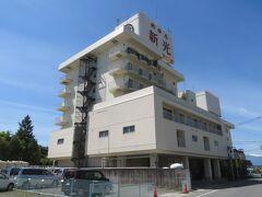 石和温泉の「ホテル新光」に宿泊して温泉と食事を楽しむ