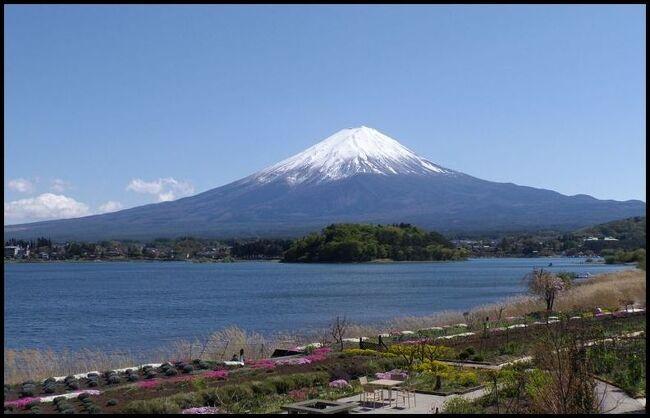今回は石和温泉ではなく、すぐお隣の春日居温泉へ。<br />もちろん吉田のうどんも食べてきました。<br /><br />晴天で富士山もキレイに観ることが出来ました。