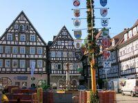 心の安らぎ旅行(2019年 夫目線 Part42 ドイツ12日目 Schorndorf ショルンドルフ Marktplaz マルクト広場♪)