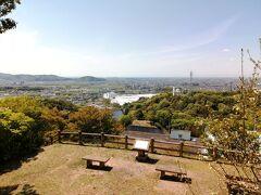 標高170.1mの低山、京ヶ峯に初登頂!
