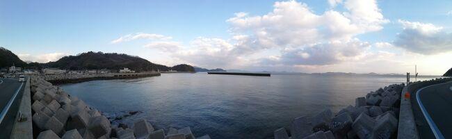 とびしま海道経由で愛媛、高知へ(1日目 広島からとびしま海道と船で愛媛へ)