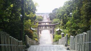 NHKBS「こころ旅」で紹介された宮地嶽神社へ行ってみた