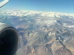世界一周:南米クルーズおわり。LAN航空ビジネスクラスでサンパウロへ!アンデス山脈やばすぎた!