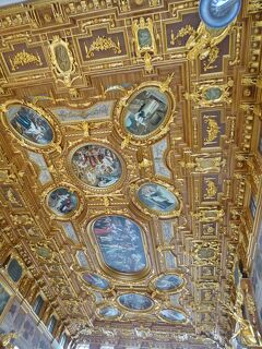 ドイツ2012年・麗しの5月:アウクスブルク市庁舎の「黄金の間」、ディリンゲン大学の「黄金の間」は見所!