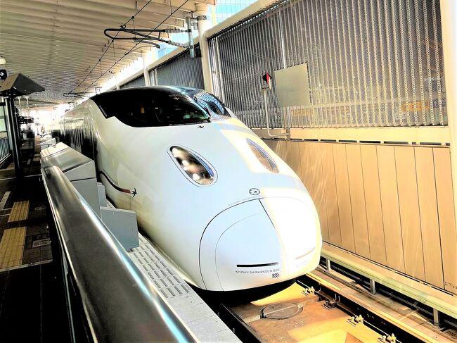どこでもドアきっぷを使う4歳子連れ旅行です。<br /><br />今回は神戸から最終目的地の鹿児島まで行きます。<br />その途中、熊本に立ち寄ることにしました。