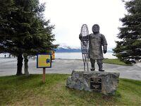 横浜から北太平洋横断クルーズで北米最初の上陸地スワードを散策