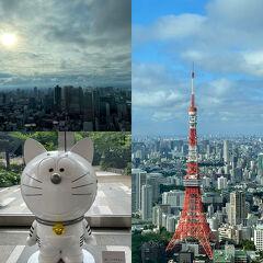 アンダーズ東京にステイ、虎ノ門周辺をちょこっと散歩。