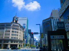 銀座で日本で初めて巡り