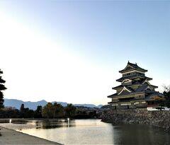 ★晩秋の木曾路を松本へ★☆★夕景の松本城から大名町通りを歩いて縄手通りへ('▽'r