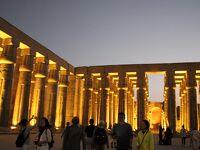 旅行会社の誇大広告に騙されたナイル川クルーズの旅 24 夜のルクソール神殿観光