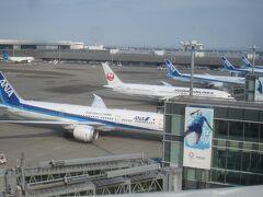 歩いて羽田空港に行きました!