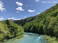 しばしの憩い、エメラルドグリーンの川を眺めて☆夏瀬温泉 都わすれ<後編>(2021)