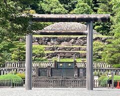 八王子の「多摩陵墓・武蔵陵墓」に初めてお詣りしました。