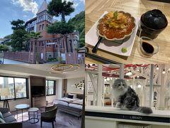 「神戸北野異人館」散策 いくらウニ牛肉に神戸餃子と牛カツ「ロイヤルパーク神戸」泊 猫カフェもね♪