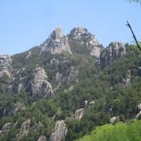 日本百名山<瑞牆山(みずがきやま)>ソロ登山・テント泊