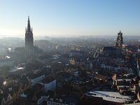 2019年ベルギーのX'sマーケット巡り【5】ブルージュ:聖母教会と鐘楼からの眺め