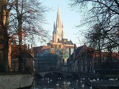 2019年ベルギーのX'sマーケット巡り【4】ブルージュ:愛の湖公園とベギン会修道院