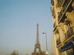 2007年春、フィルムカメラとガラケーの画像で振り返るヨーロッパ卒業旅行(その5・パリ編)