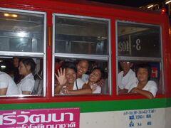 2011 世界一周 ~ ⑭ バンコク ~ 王宮、ワット・プラケオ、ワット・ポー見学、赤バスで出会った女の子たち