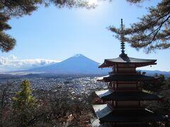 GO TO  トラベルで行く 新倉山浅間公園から見る富士山と五重塔