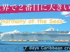 次の寄港地はセントトーマス!Harmony of the Seas(ハーモニー・オブ・ザ・シーズ)乗客乗員8000名!動く街!
