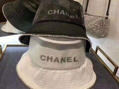 シャネル フィッシャーマンハット CHANEL 帽子 ロゴ入り