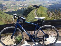 2014年秋 阿蘇ミルクロードサイクリング 今は走れないラピュタの道から阿蘇神社へ