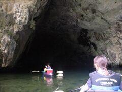 パラオ カヌーとクラゲとロックアイランドの旅 その4 スコールのカヌーツアー編