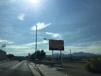 アリゾナ州 キングマン - ルート66を通ってからハイウェイに