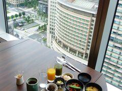 東京の超高層ホテル2カ所に泊る2泊3日 誕生日記念旅行【『ホテルメトロポリタン丸の内』和朝食セットメニュー編】