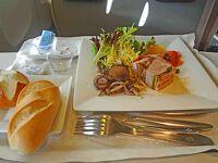 過去を振り返って、日本航空ビジネスクラス食事 その1/2012-2014