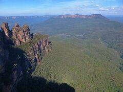 オーストラリアの旅(2)ブルーマウンテン国立公園、スリーシスターズ