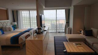 9月頃に宮古島のシギラビーチのリゾートホテルに宿泊。