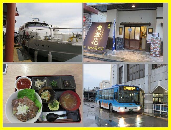 ★旅のアーカイブから★<br /><br />思い出の沖縄離島一人旅。旅行記を淡々と続けます。<br />2015年2月八重山諸島と沖縄本島へ。<br />前半は石垣島を拠点にして八重山諸島の離島巡り。日本最南端の波照間島、西表島、由布島、人気の竹富島などを巡りました。<br />後半は沖縄本島に渡り、いつものようにダイビングやグルメ。<br />ANAインターコンチネンタル石垣とホテル日航アリビラに泊まってANA系とJAL系のリゾートホテルを泊まり比べるちょっと贅沢をした2週間の旅でした。<br /><br /><その7><br />西表島から安栄観光の高速船に乗って石垣島に戻ります。<br />夕食は石垣島の市街地で石垣牛の焼肉丼。<br />路線バスでANAインターコンチネンタル石垣に戻って。翌朝もレストラン八重山で和朝食。<br /><br />**********<br />旅行時期2015年2月<br />投稿日2021年6月21日