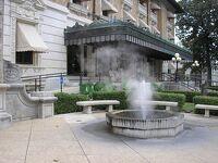 アメリカの温泉、アーカンソー州 A hot spring in Arkansas