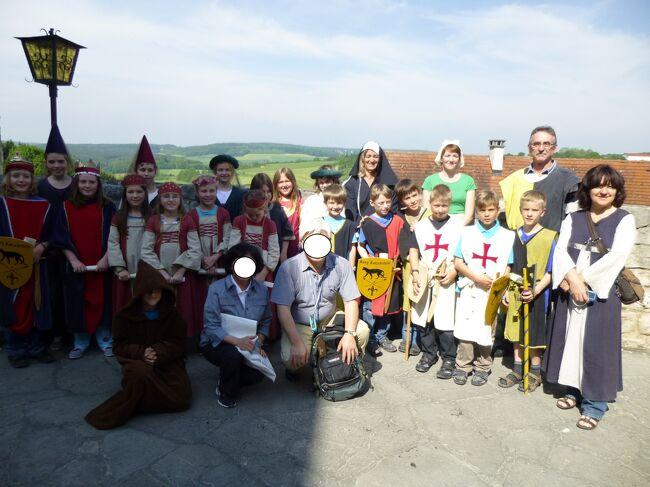 ドイツ2012年・麗しの5月:カッツェンシュタイン城見学では城の幽霊バルドリアンにチップをねだられた!
