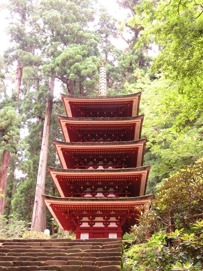 運行開始1周年の特急ひのとりに乗って大和路へ②女人高野の室生寺