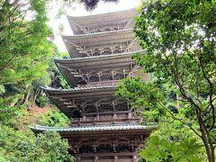 腰越漁港(鎌倉市)にて朝どれサバの天ぷら1パックを買って小動神社と五重塔へ