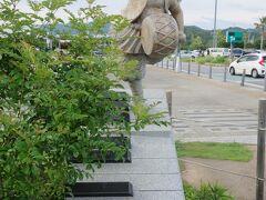 新東名を走り,浜松SAで休憩。浜松は音楽の町です。