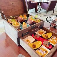 旅するマンゴー&カカオ        インターコンチネンタル大阪のアフタヌーンティ-