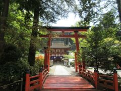 緑陰の熊野参詣(8)龍神温泉・丹生都比売神社