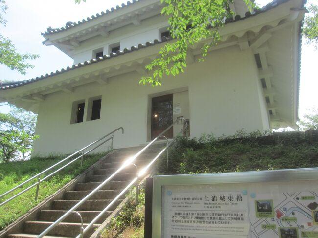 茨城方面へ常磐線に乗って行ってみました<br />土浦です<br />土浦は江戸時代は土浦藩土屋氏の城下町<br />今でも町の至る所に城下町の名残がある町でした<br /><br />【表紙の写真】亀城公園の土浦城東櫓