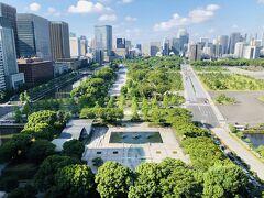 ふらっと近場でホテルステイ ~ パレスホテル東京 & ちょこっと皇居観光