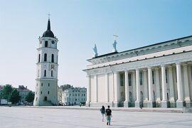 シニア夫婦2回目の北欧、バルト7カ国ゆっくり旅行25日 (23)リトアニアのヴィリニュスの街歩きです(10月10日)